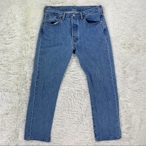 Levi's 501xx Straight Jeans Button Fly Red Tab